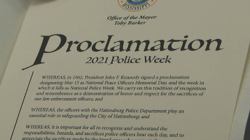 National Police Week is May 9th t- 15th.