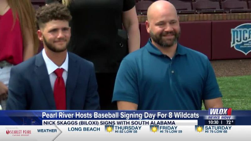 Eight sign with four-year programs from Pearl River baseball