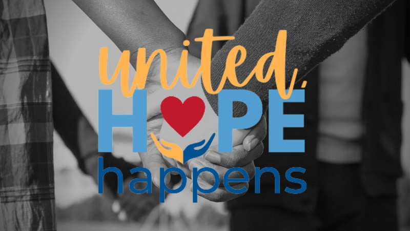 United Hope Happens is this year's campaign slogan.