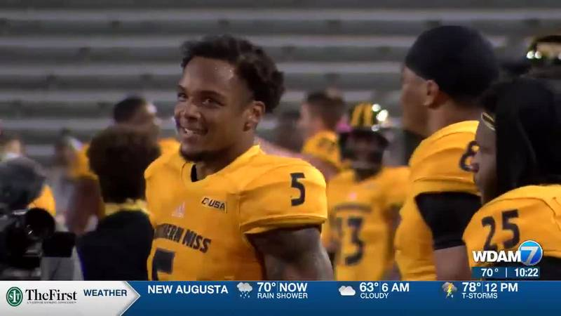 USM's Jones signs with NFL's Jacksonville Jaguars as undrafted free agent
