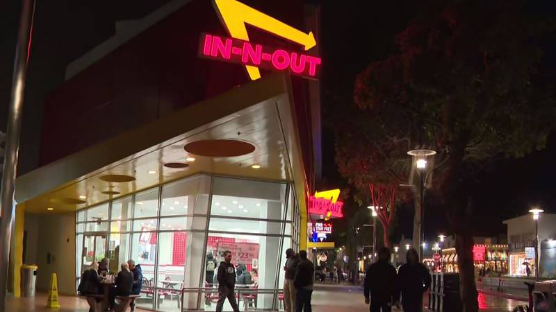 In-N-Out's only San Francisco location was temporarily closed after authorities said it refused...