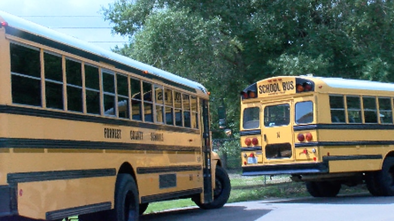 Summer officially ended Monday for students in the Forrest County School District.